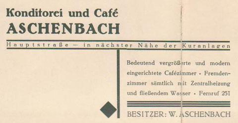 Anzeige  Ende 1930er - Archiv W.Malek
