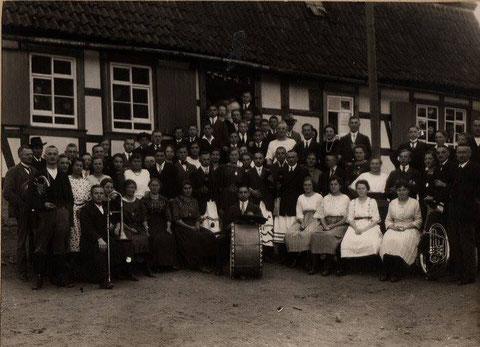 Kirmes in Meimers 1909 - Recherche Jürgen Roth
