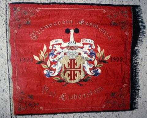 Fahnenweihe 1908 des Turnvereins Germania, gegründet 1903 - ehemals im Besitz von Holger Munkel