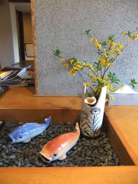 Ito K's House Onsen - le lobby