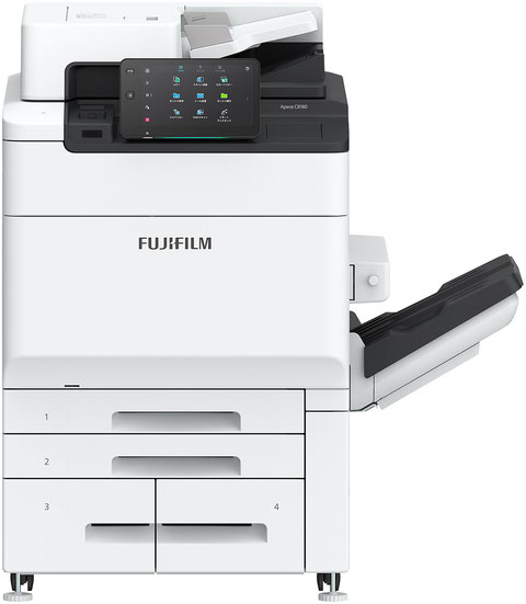 富士フイルムBIのカラー複合機はケイズサポートへ