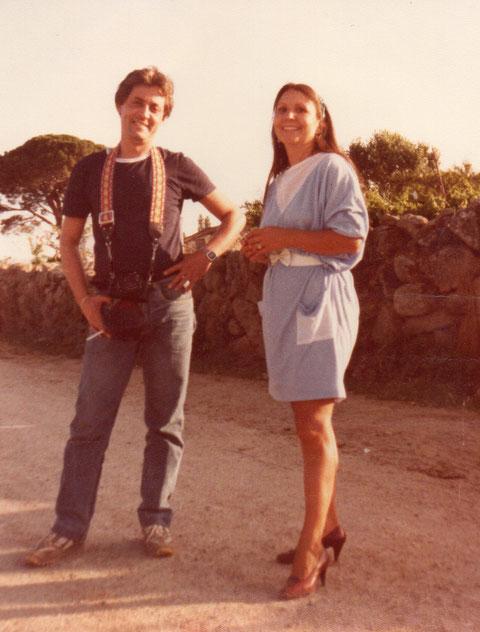 Con Ricardo mi cuñado. F. Pedro. P. Privada.