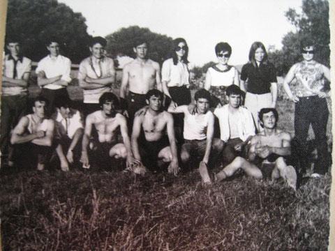 Grupo de la Puebla. Años 70. F. Pedro. P. Privada.