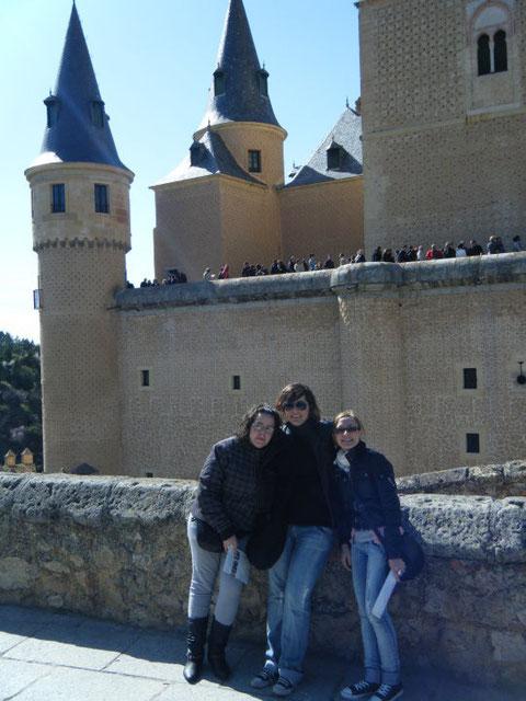 Alcazar de Segovia. F. P. Privada.