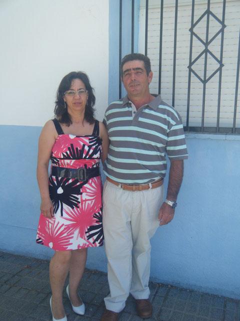 Mi primo Jose Luis & su esposa.