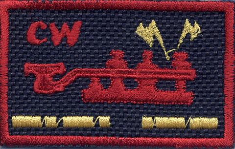 Badge embroidered (c)  by IK3WUZ - www.diegocavalli.com