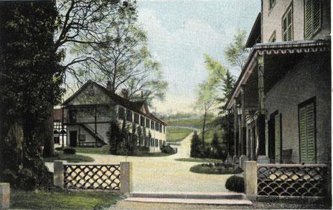 das Schloss um 1900