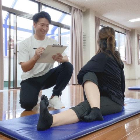 スモールジムトレーニング指導