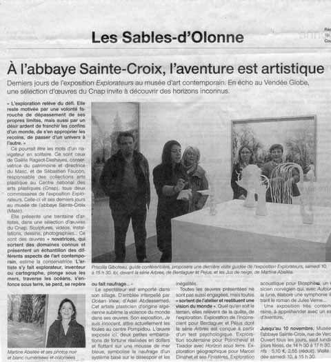 Ouest France 6/11/2012