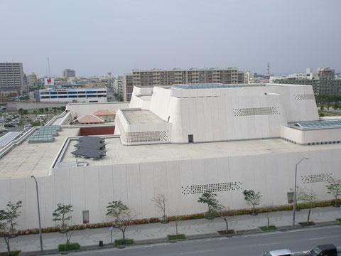 沖縄県立博物館 外観