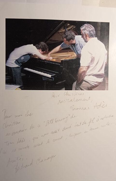 Thomas Adès et Bertrand Chamayou, Cordes-sur-Ciel 2007