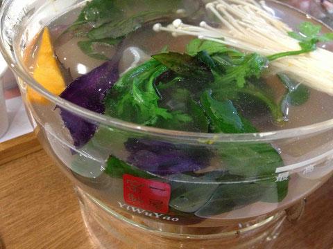 色鮮やかな野菜がご馳走