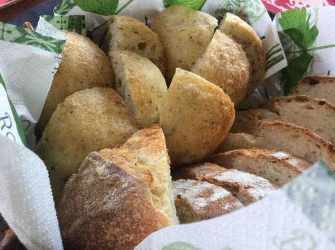 Atlier705主宰の鈴木なお子さんお手製のパン。