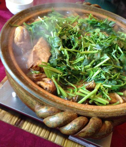 ピリ辛酒粕鍋(ベジ仕様でつくってみました)