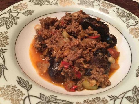 10種の豆入り特製チリ
