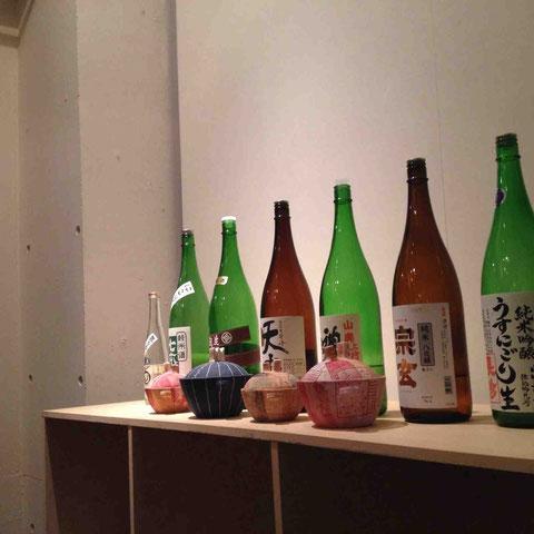 日本酒はこのラインナップ