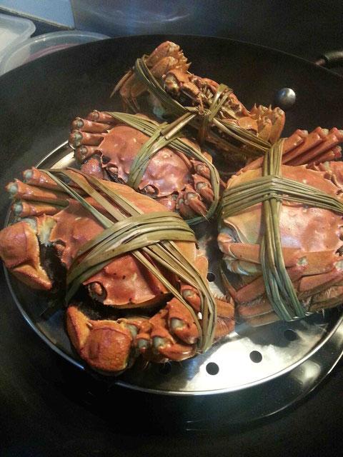 家で食べれば上海蟹もリーズナブル!