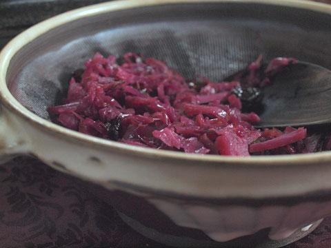 ロートコール(紫キャベツのライン風煮込み)