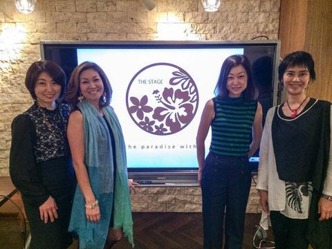 左から、魅力学の中原晴美さん、ハワイ式風水の永田広美さん、メディアスタイリストの澤木祐子さん