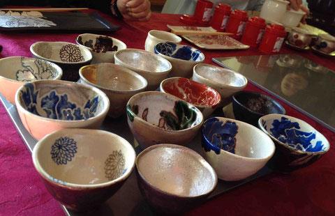 「美命」の器で台湾茶を楽しむ
