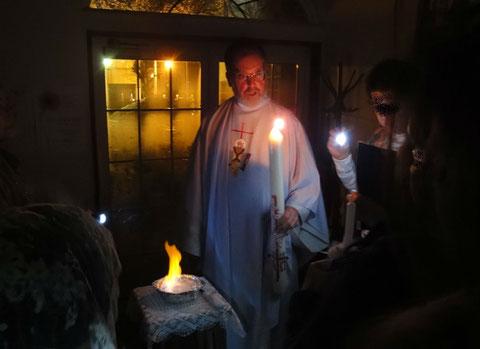 mylet james catholic chitose church easter vigil