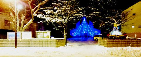 カトリック 教会 千歳 christmas hokkaido church
