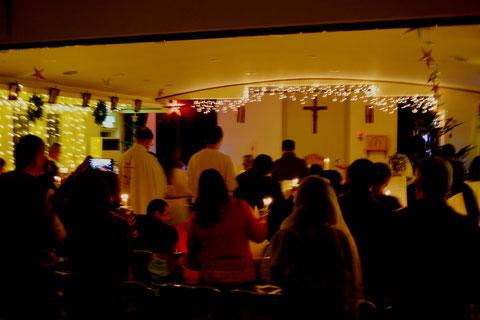降誕祭 クリスマス 教会 カトリック 千歳 北海道