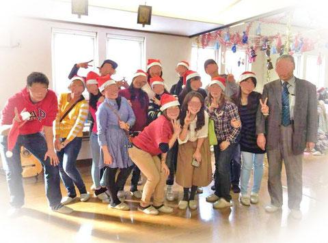 catholic chitose church mylet james christmas party pasko hokkaido
