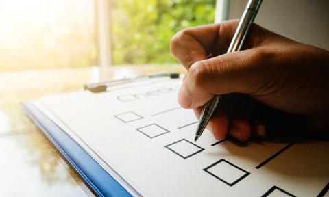 Checkliste als Gefährdungsbeurteilung