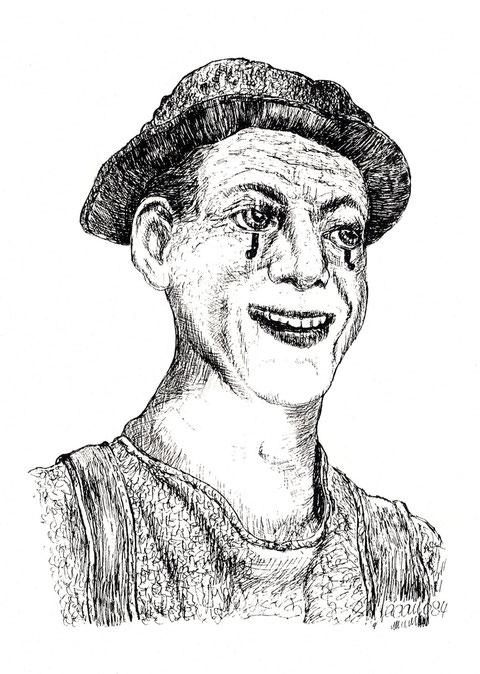 """""""Ich lache mir und anderen die Sorgen weg!"""", von W. Vacano"""