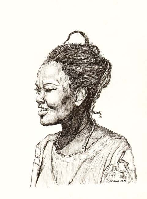 """""""Afrikanische Prinzessin"""", von W. Vacano (c)"""