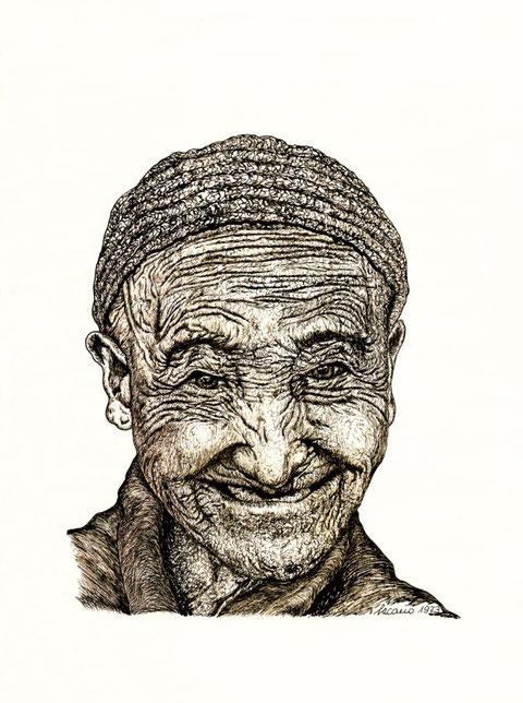 """""""Auch das Älterwerden hat schöne Seiten!"""", von W. Vacano (c)"""