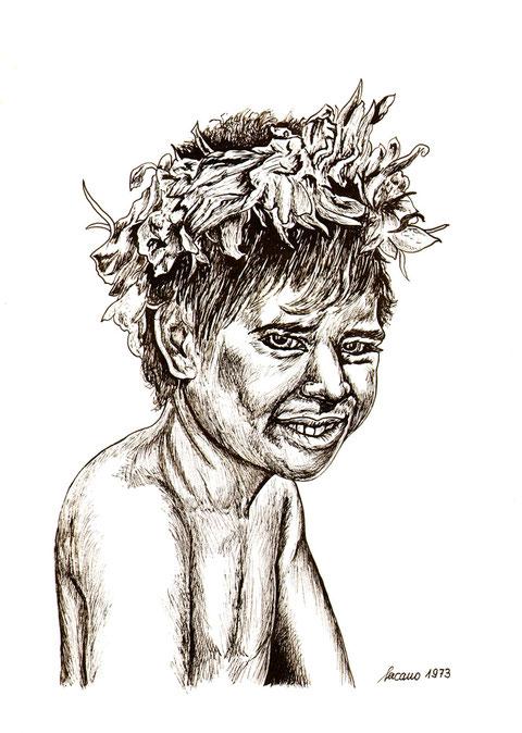 """""""Haarschmuck"""", von W. Vacano"""