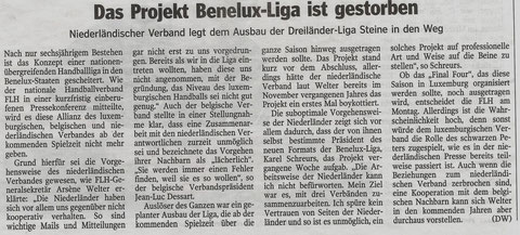 Luxemburger Wort, Freitag 28.02.