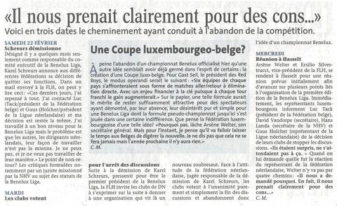 Le Quotidien, vendredi 28.02.