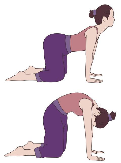 辛い産後の恥骨の痛み改善にお勧めのストレッチ