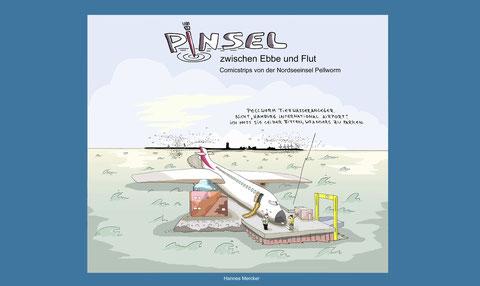 """Cover """"Pinsel zwischen Ebbe und Flut"""""""