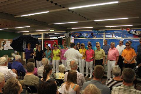"""Liederabend """"Ab in den Urlaub"""" am 19.07.2014"""