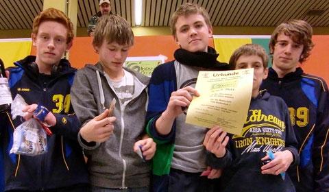 Schüler Turniersieger in der Juniorenklasse