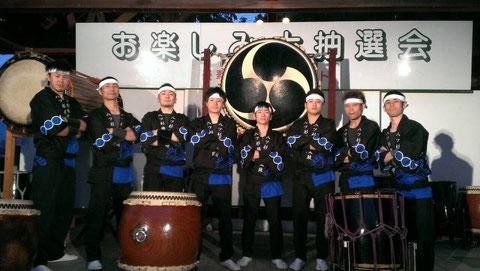 6月の池田大祭にて。新しい衣装で演奏させていただきました!!