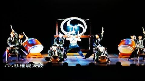 2014年 福井県太鼓フェスティバル「太鼓魂」にて。曲名は「最極へ(さきへ)」。