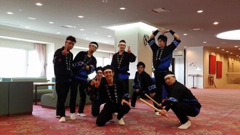 越前市保育研究会新年交歓会(@武生パレスホテル)の本番前の写真です(^_^)/会場には保育士の方がたくさんいて驚きました!!