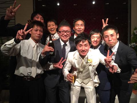 12月17日は、齊藤くんの結婚式でした!!新郎による大太鼓の披露や、アンコール演奏もあり、充実した舞台でした(^^♪