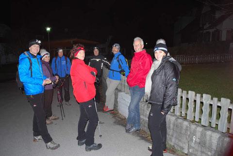 Nachtwanderung 2012