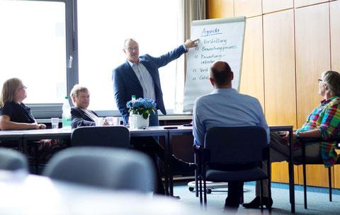 Die Prinzipien von Visaktion, Coaching in Schwerin