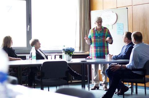 Teamcoaching mit Visaktion, Schwerin