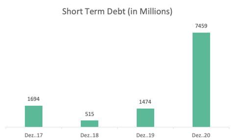 Short term debt Novo Nordisk