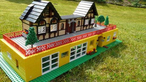 Voici la partie en Lego de la grande maquette dont j'avais déjà touché un mot avec Léo