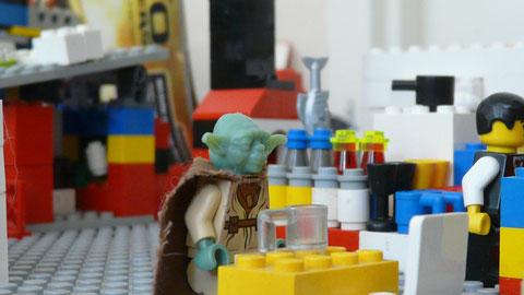 Yoda au Jedi Bar