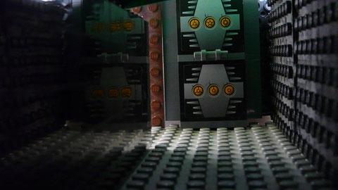 Un couloir sombre...